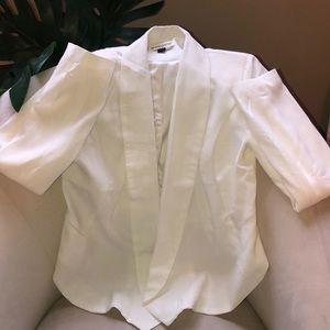 Go Jane white blazer